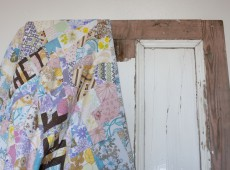 untitled; patchwork quilt and door, 2015, ©Alana Tyson